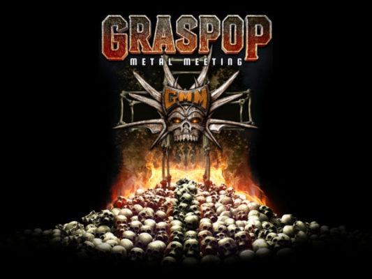 De eerste drie namen voor de donderdag van Graspop Metal Meeting