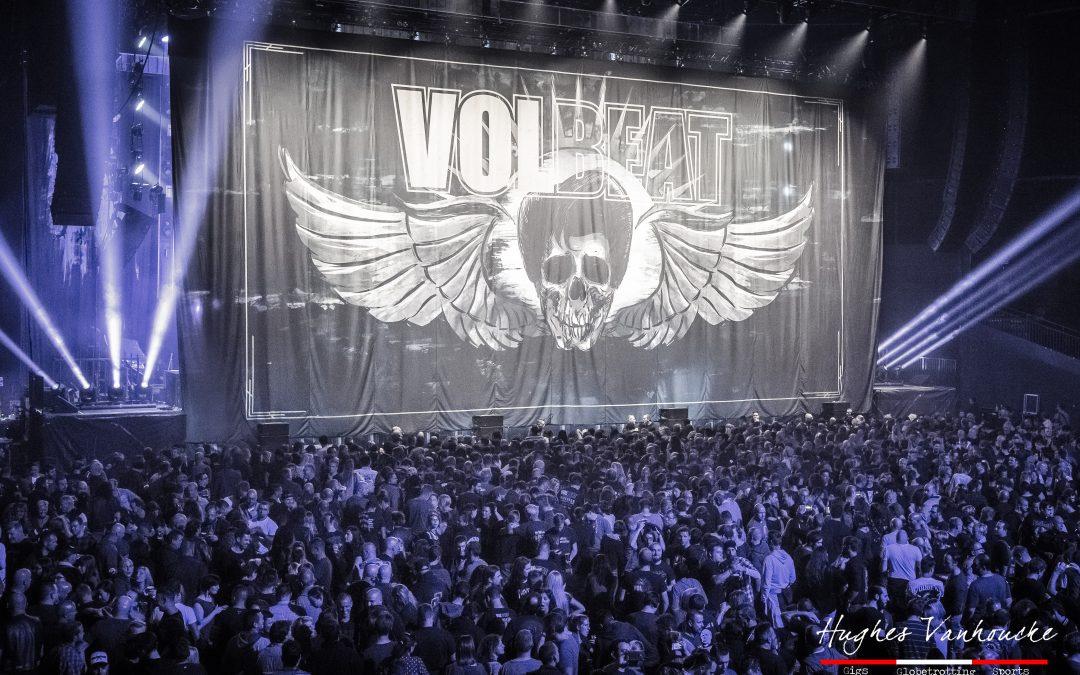 Volbeat, Airbourne & Crobot @ Ziggo Dome, Amsterdam.