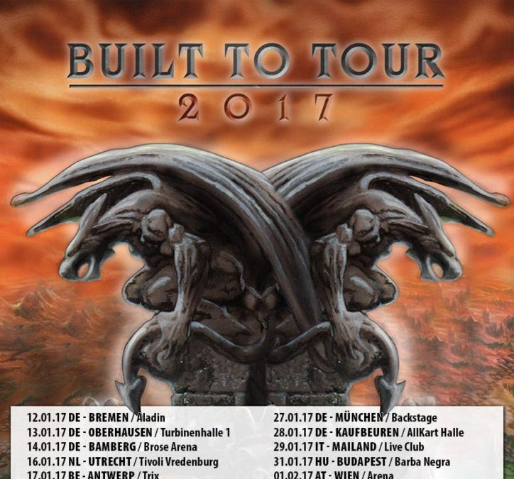 Hammerfall + Gloryhammer + Lancer – Trix Antwerpen – 17 januari 2017