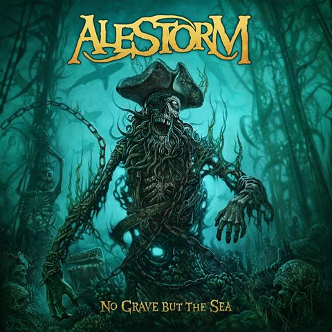 Alestorm - No Grave but the Sea album cover artwork