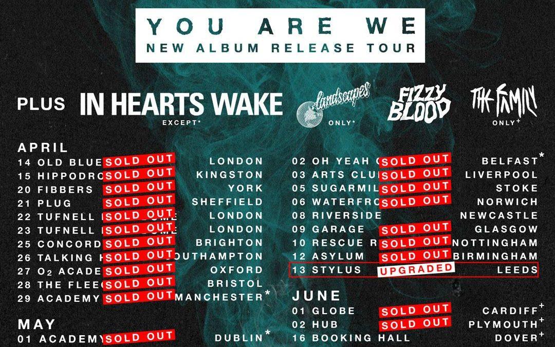 While She Sleeps @ The Asylum – Birmingham – UK