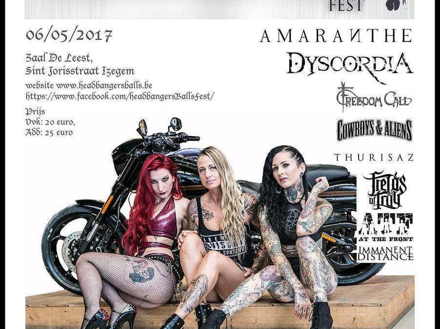 Headbanger's Balls Fest – De Leest – Izegem – 06/05/2017
