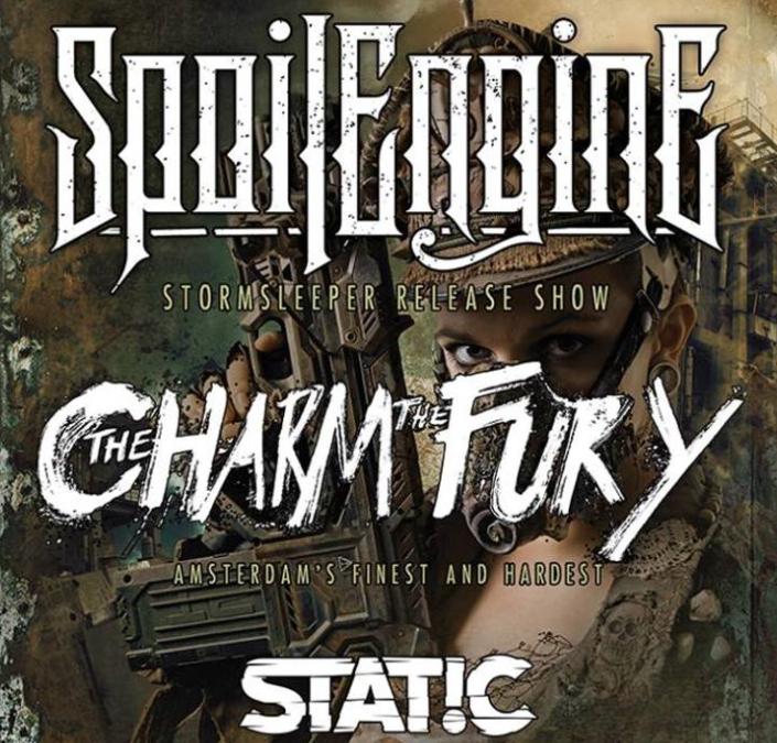 Spoil Engine + The Charm The Fury + Static / CLUB de B, Torhout / 20-05-2017