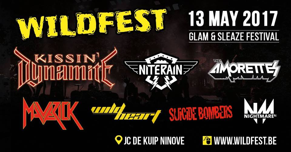 Preview Wildfest, 13 mei 2017 @ JC De Kuip, Ninove