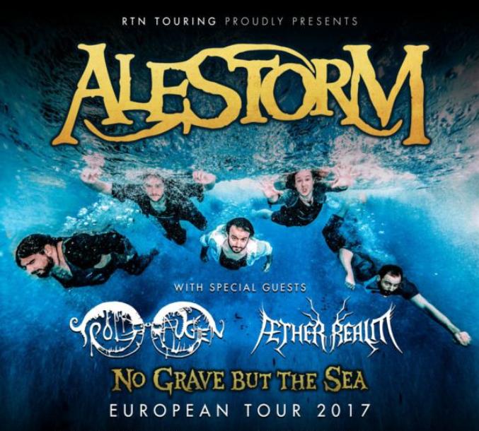 Alestorm + support / Trix, Antwerpen / 22-10-2017