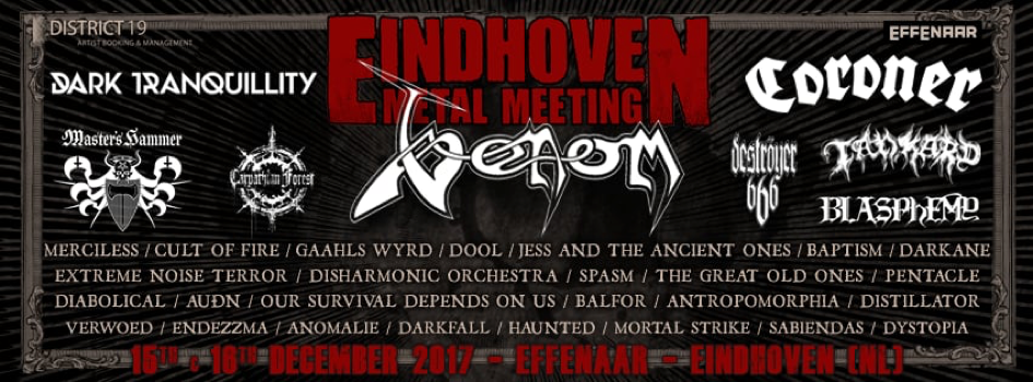 Eindhoven Metal Meeting 2017 – Review Dag 1