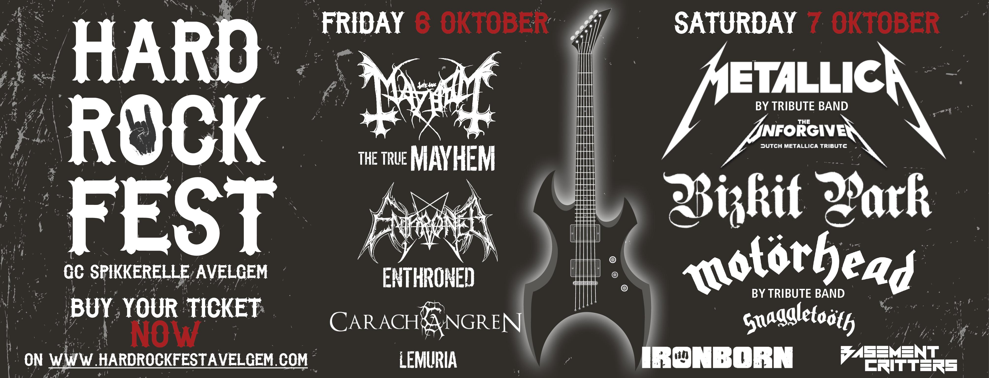 Black Friday @ Hard Rock Fest – Avelgem