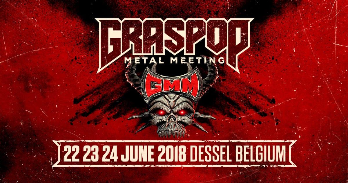 De laatste 16 namen voor Graspop Metal Meeting