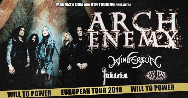 Arch Enemy & kompanen @ Trix