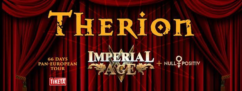 Therion + Imperial Age / De Kreun, Kortrijk / 15-02-2018