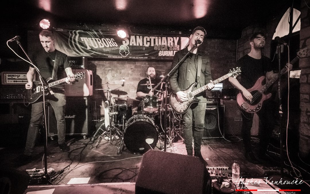 Nieuwe alternatieve rock/metalsensatie Of Allies @ Sanctuary – Burnley – UK