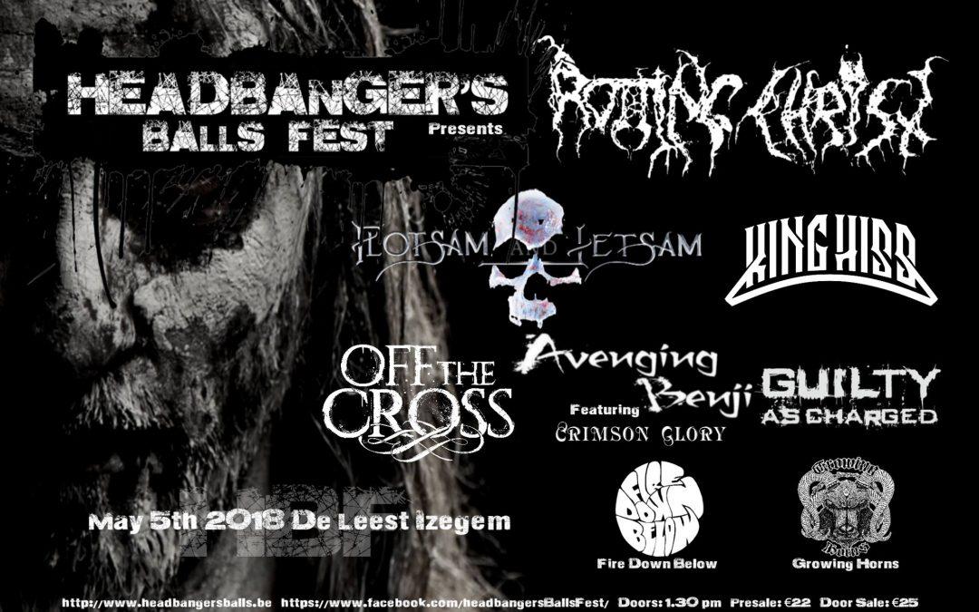 Headbanger's Balls Fest 2018: de preview!