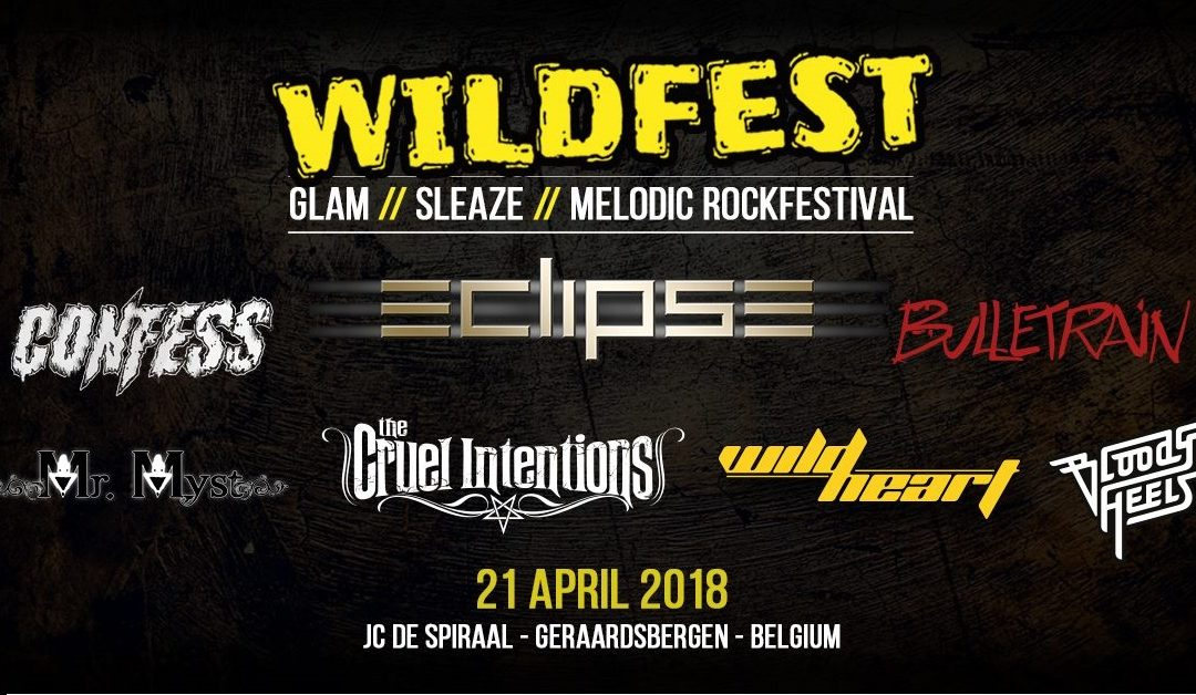 Sleaze metal & glam rock rule @ Wildfest 2018