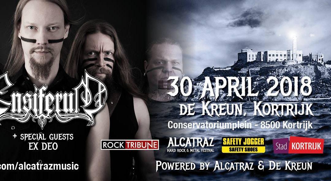 Ensiferum + Ex Deo + Wind Rose / @ De Kreun, Kortrijk / 30-04-2018
