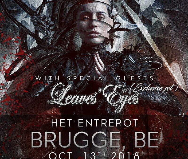 Kamelot + Leaves' Eyes @ Het Entrepot – Brugge – 13/10/2018