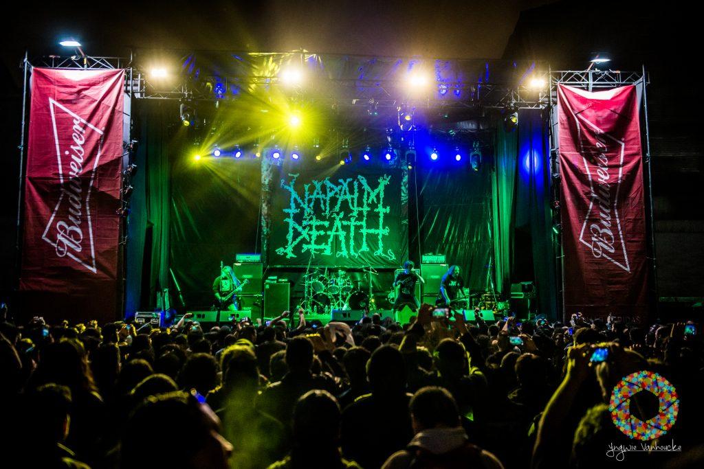 Cannibal Corpse & Napalm Death / Lima, Peru / 27-09-2018
