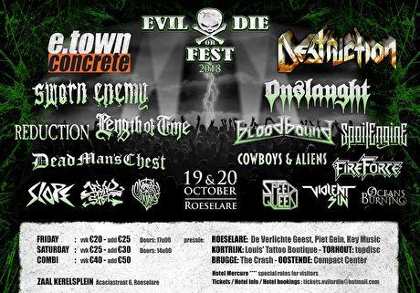 Evil Or Die Fest 2019 – Preview