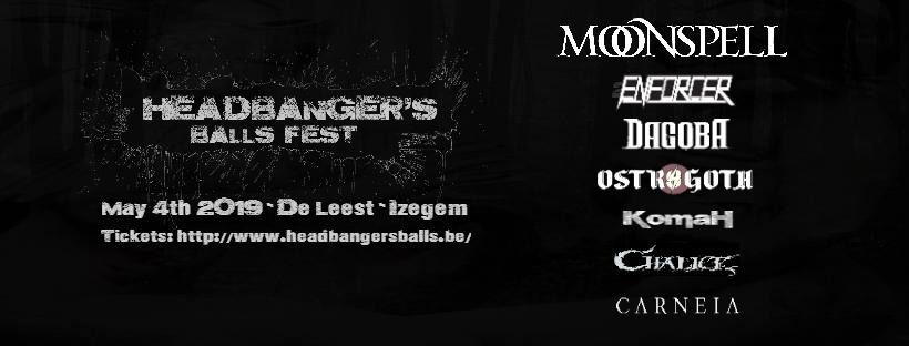 Affiche van Headbanger's Balls Fest is compleet