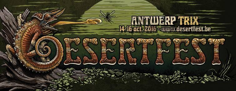 Desertfest Belgium 2016: enkele updates