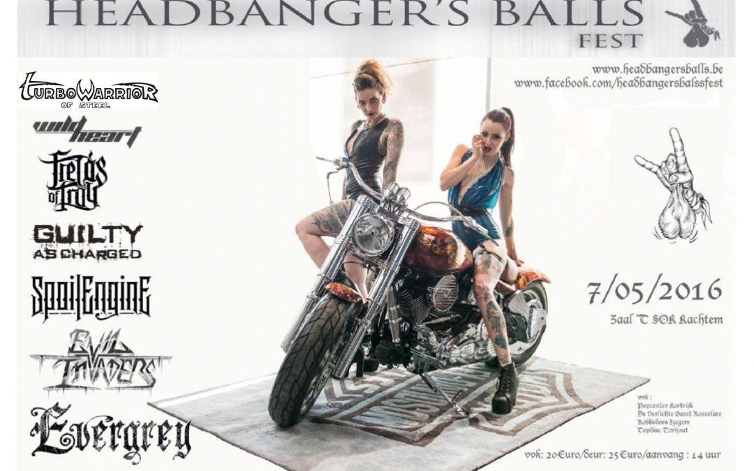 Headbanger's Balls Fest/Zaal t'SOK Kachtem/ 07-05-2016