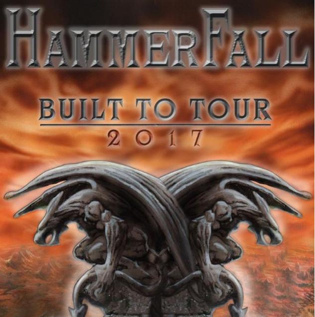 Hammerfall door Europa in 2017