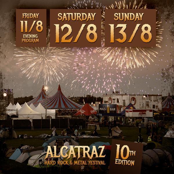 Alcatraz Hardrock & Metal Festival wordt 3 dagen