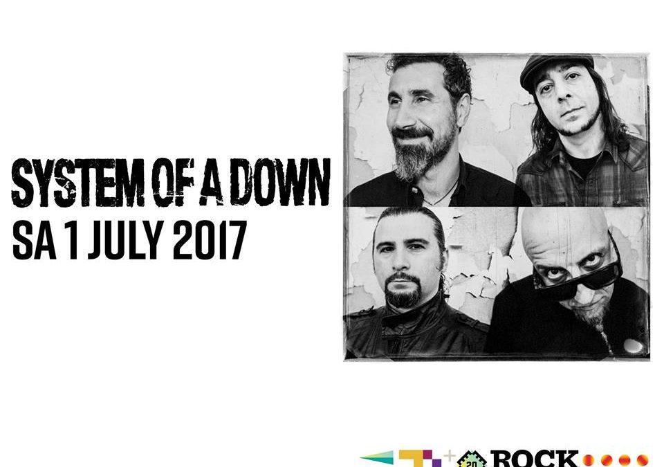 System of a Down speelt op Werchter