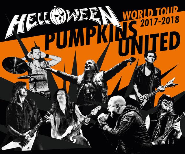 Helloween reünie op Pumpkins United World Tour