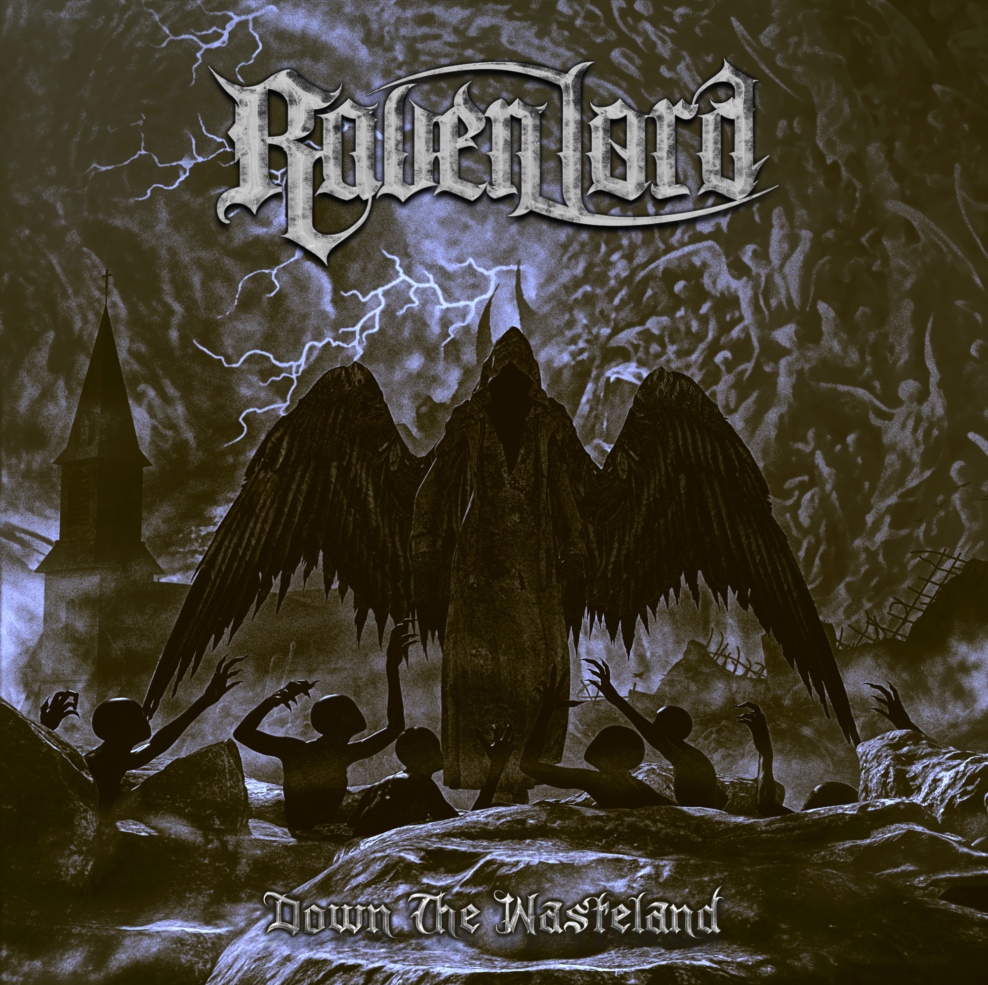Raven Lord – Down the Wasteland