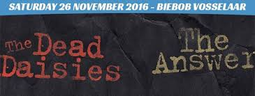 The Dead Daisies – The Answer, zaterdag 26/11/2016, Biebob Vosselaar
