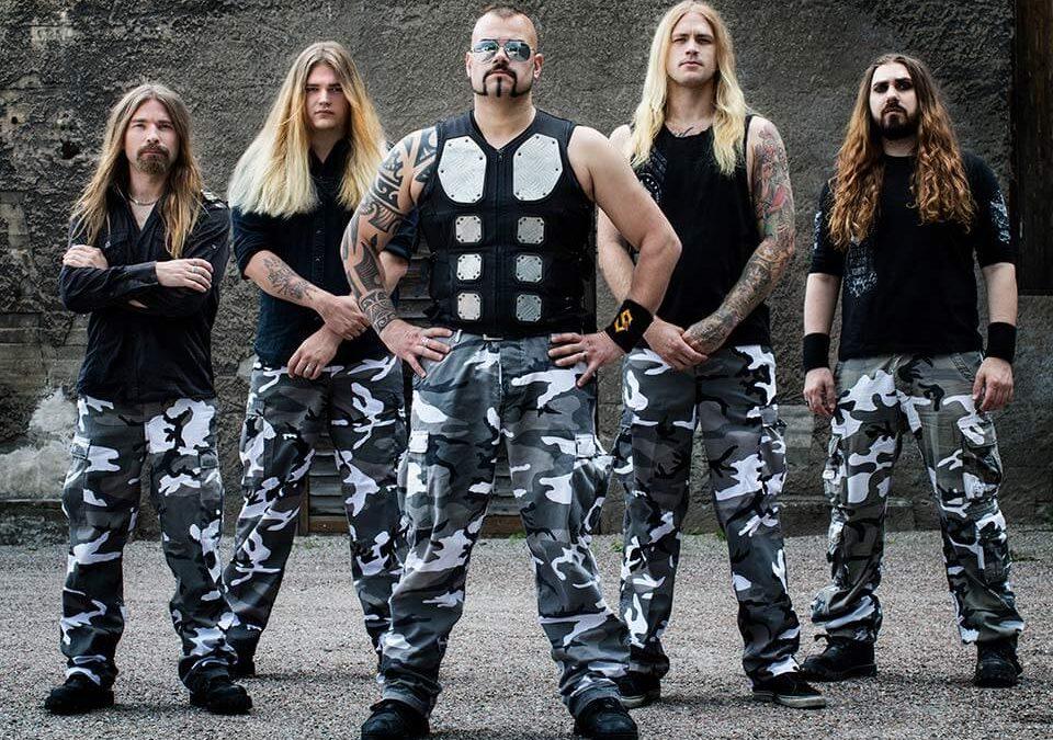 Pär Sundström praat met Amped-Up over zijn band Sabaton