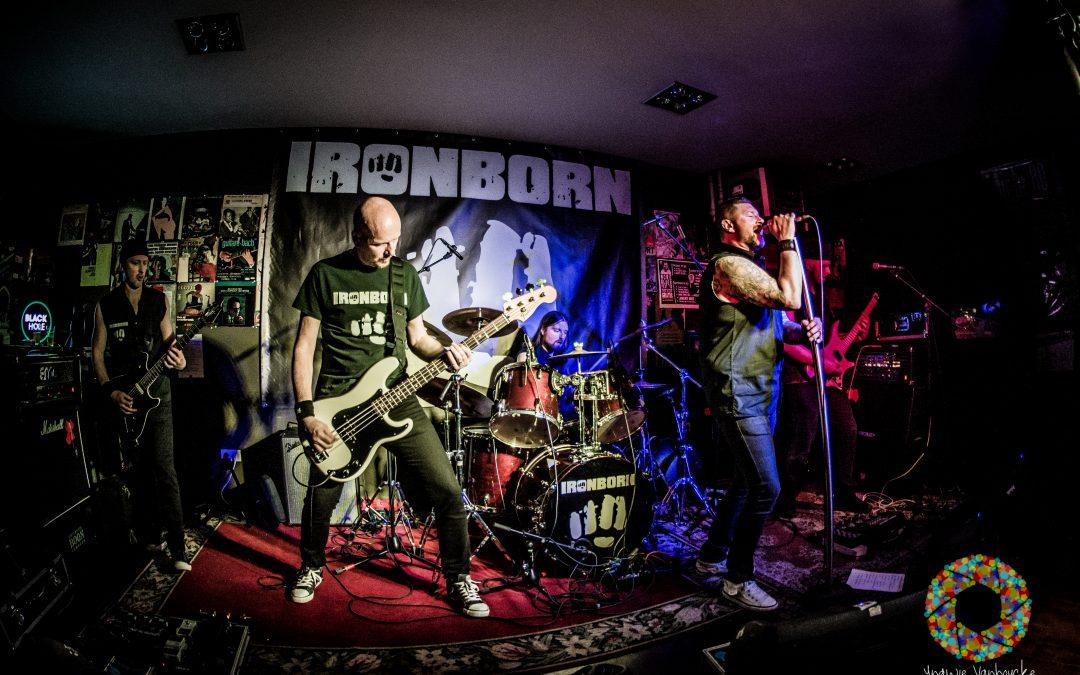 Fotoverslag: Ironborn – Dyscordia / De Foyer – Zottegem – België / 24-03-2017