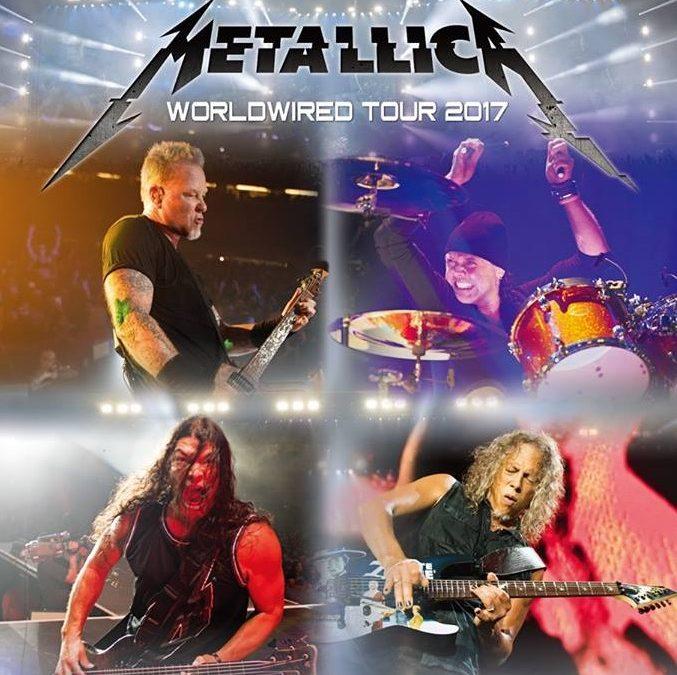Metallica komt naar België