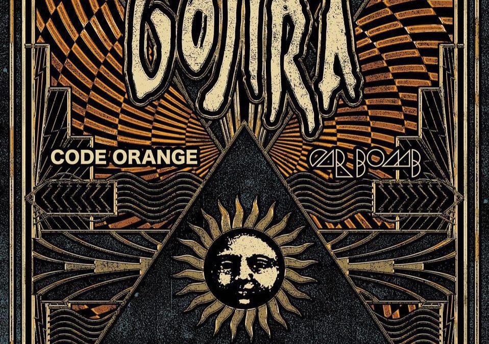 Gojira + Code Orange + Car Bomb – AB Brussel – 20 maart 2017