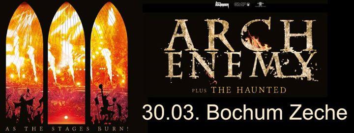Arch Enemy & The Haunted @ Zeche – Bochum – Duitsland