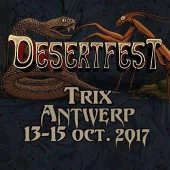 De eerste lading namen voor Desertfest 2017