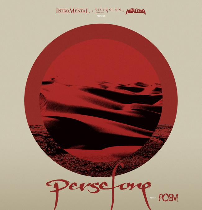 Persefone, Poem & Samsara Circle @ Turock – Essen – Duitsland