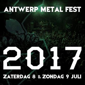Antwerp Metal Fest 2017: Zondag 9 juli: Het Verslag