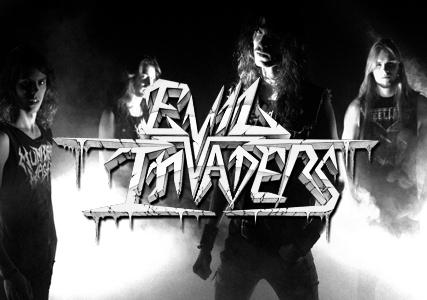 Evil Invaders: Snel, luid en ruw, maar vooral Belgisch! Een gesprek.