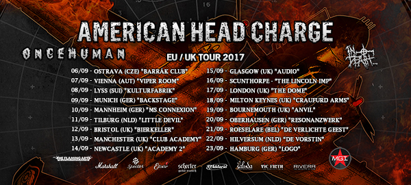 American Head Charge, Liv Sin & Co @ De Verlichte Geest – Roeselare (21.09.2017)