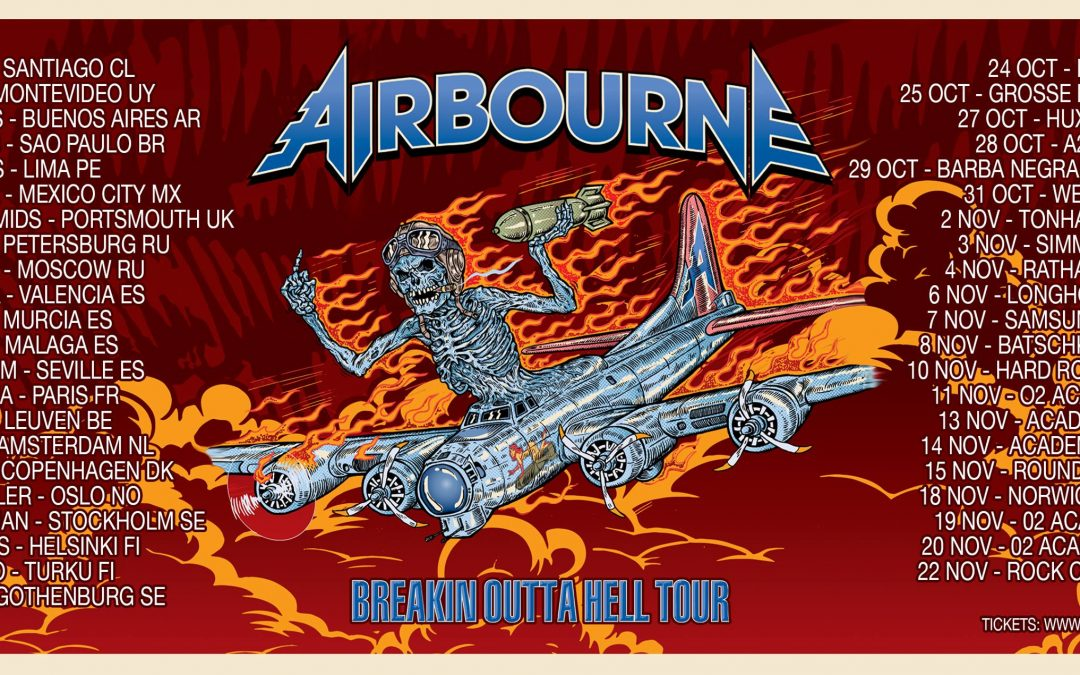 Onvermoeibaar Airbourne @ Het Depot – Leuven