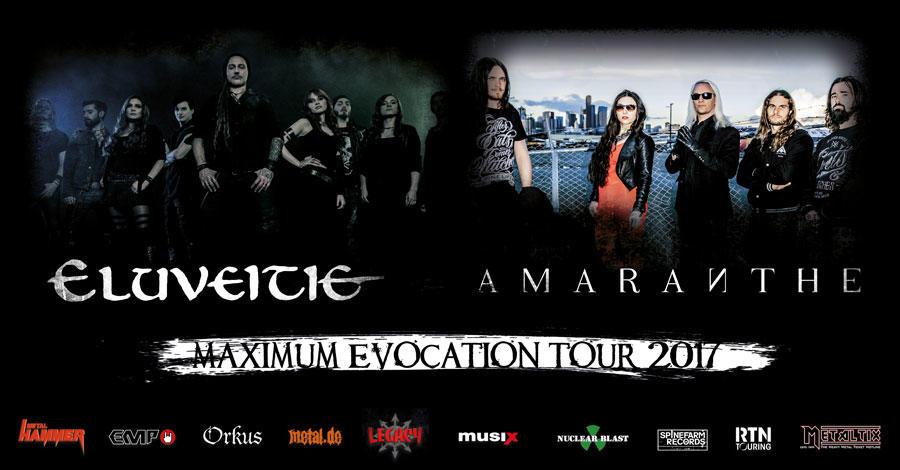 Eluveitie + Amaranthe + The Charm The Fury / Trix, Antwerpen/ 05-11-2017