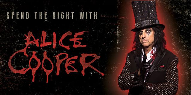 Spend the Night with Alice Cooper show @ Brielpoort Deinze