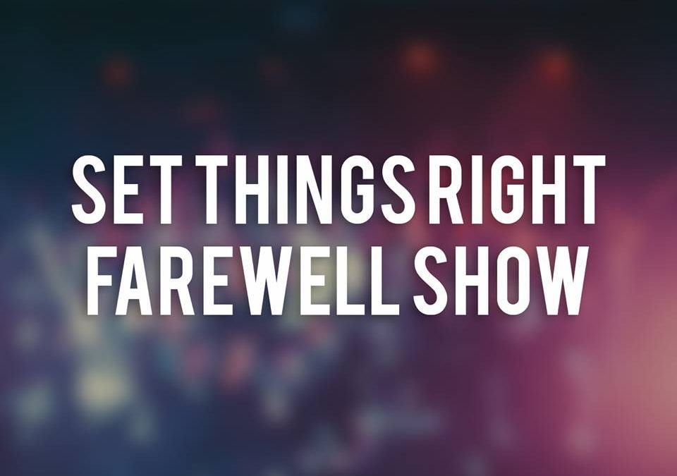 Set Things Right Farewellshow + Wolves Scream + Off The Cross + Fatal Move / Hangar 27, Edegem / 25-11-2017