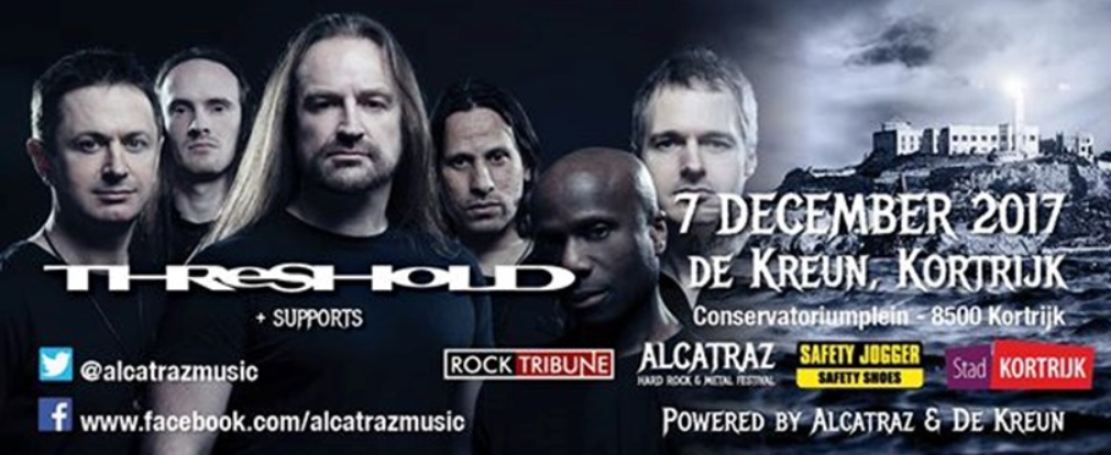 Threshold, Damnation Angels en Day Six @ De Kreun, Kortijk op 7 december 2017