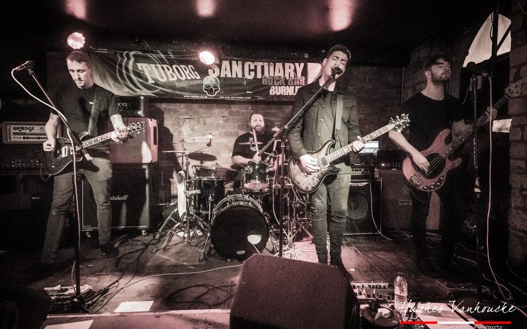 Nieuwe alternatieve rock/metalsensatie Of Allies @ Sanctuary – Burnley – UK
