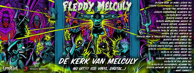 Fleddy Melculy + Rectum Raiders / Vooruit, Gent / 29-03-2018