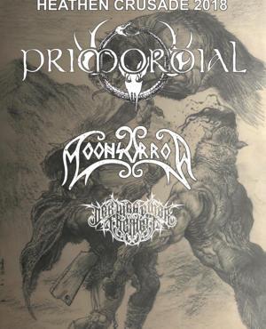 Der Weg Einer Freiheit – Moonsorrow – Primordial 13/04/18 013 Tilburg