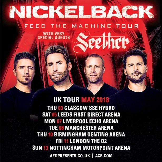 Meest gehate band ter wereld @ Motorpoint Arena – Nottingham – Engeland