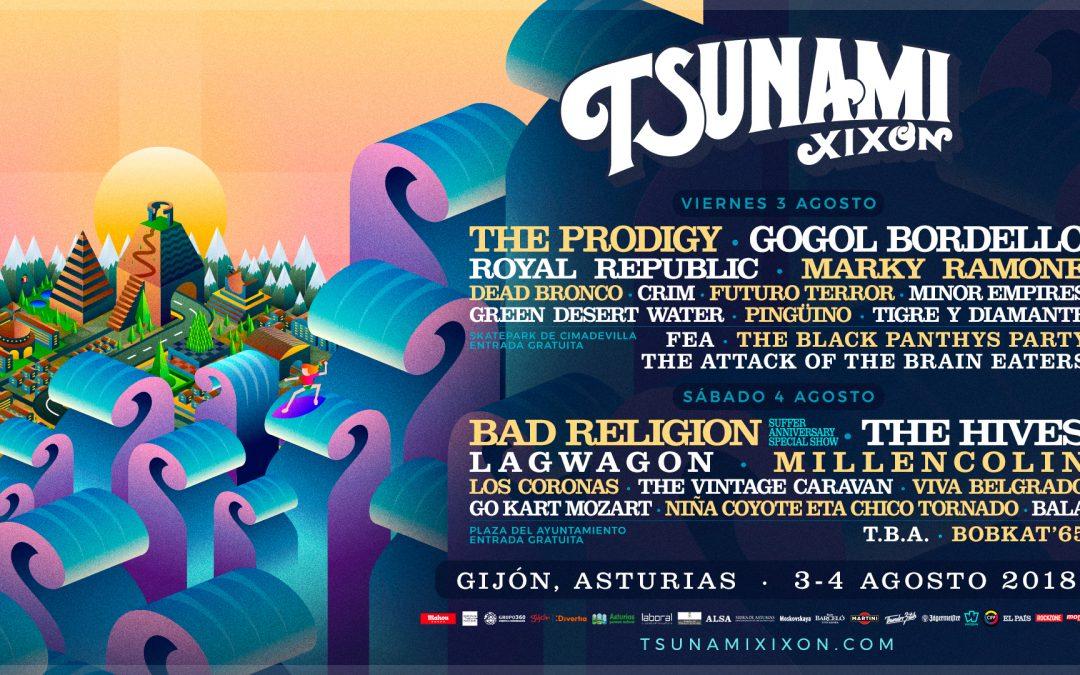 Alternatief festival in het noorden van Spanje: Tsunami Xixón
